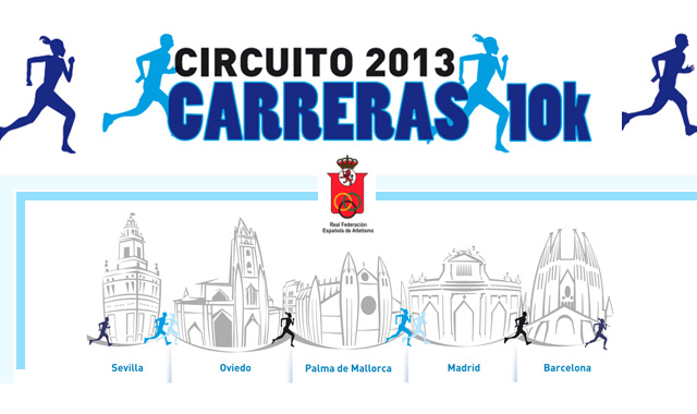 Circuito de carreras 10K 2013