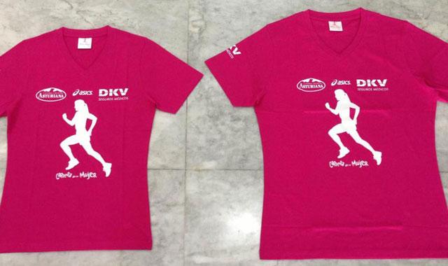 Camiseta de la carrera de la Mujer 2012