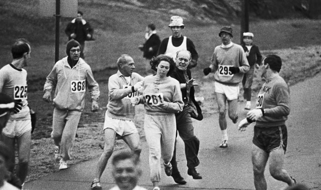Kathrine Switzer - Maraton Boston