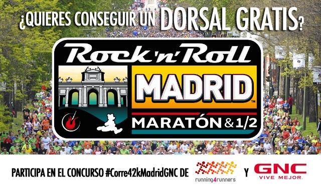 Gana un dorsal gratis para el Maratón de Madrid