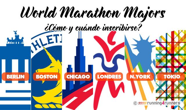 Inscribirse en los 6 maratones top del mundo