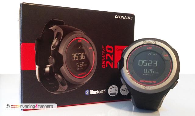 65ddc7b245ba Geonaute ONmove 220  un reloj GPS adecuado para quién se inicia en ...