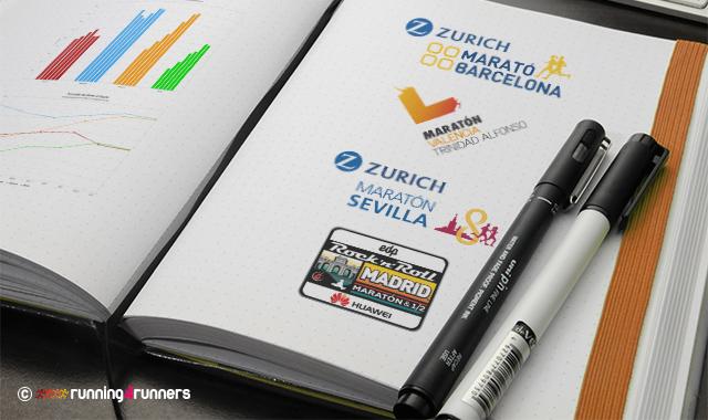 Finishers maratones España 2012-2017